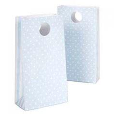 Paper Eskimo Blue Spots Party Bags