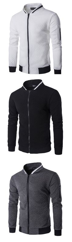 Men's Casual/Daily Street chic Spring Fall Jacket