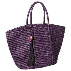 Merona® Beach Tote Handbag - Purple