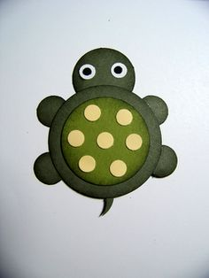 Tarheel Stamper: Stampin' Up! Punch Art Scrapbook Page Turtle and Frog