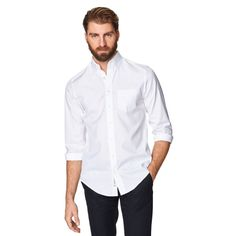 THE PINPOINT OXFORD BUTTON DOWN SHIRT