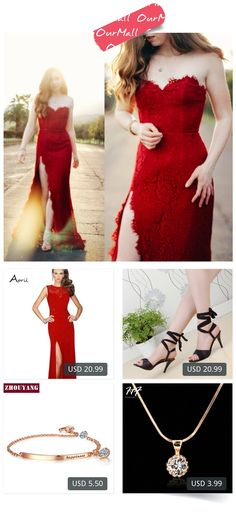 This is Olivia Fleming's buyer show in OurMall;  1.sexy lace patchwork women long dresses evening to party side slit wedding black red dress gown 2.Hot Sales Women Sandals Red Black Beige Blue Ladies Sexy High Heel Shoes Cross Tied AHS-2 Plus 3.ZYH195 OL Style CZ  Rose Gold Pla... please click the picture for detail. http://ourmall.com/?VRBr2e  #dress #dressbridesmaid #dresswedding #mididress #dresscute #floraldress #sundress #stripedress #sexydress #elegantdress