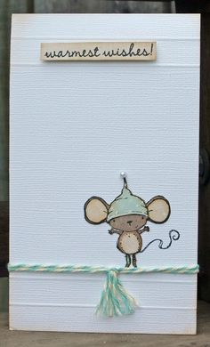 Julie Dudley - Holly Card