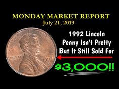 Welcome to the Monday Coin Market Report where we discuss the notable modern coins t. Valuable Pennies, Valuable Coins, Old Coins Value, Penny Auctions, Rare Coins Worth Money, Reborn Dolls, Reborn Babies, Baby Dolls, Coin Market
