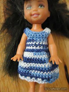 Kelly doll pj's crochet pattern.