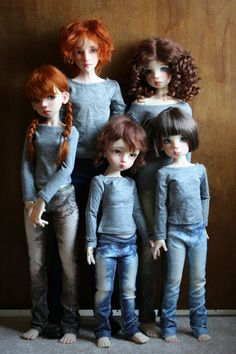 Forever Virginia. Don't normally pin bjds but this group is so nice.