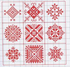 Gallery.ru / Фото #52 - Motif scandinaves traditionnel - Mongia