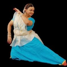 Mamta Maharaj, teacher at Kalashram. Daughter of Birju Maharaj.