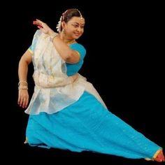 Mamta Maharaj, teacher at Kalashram. Daughter of Birju Maharaj.