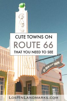 The best towns along Route 66 are often the smallest ones. They have so much character and history you can't help but love them. Often they have museums, traditional motels and retro diners for you to enjoy and really get the full Route 66 experience. USA road trip #route66 Route 66 Road Trip, East Coast Road Trip, Travel Route, Road Trip Usa, Travel Usa, Arizona Road Trip, Travel Oklahoma, Road Trip Packing List, Road Trip Essentials