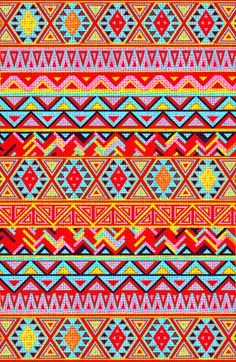 India Style Pattern (Multicolor)  by Maximilian San
