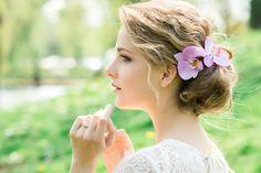 Matrimonio.it   Trucco #Sposa Milano e #Acconciature - Parrucchiere e bellezza a Milano  #flowers #updo #bride #faschion