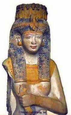 Statue of Meritamen....daughter and later the wife of Ramesses ll.