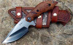 Гравировка по металлу на ноже