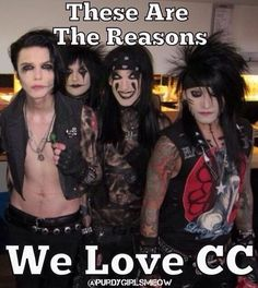 "Black Veil Brides—""Reasons We Love CC"""
