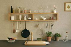 Regal für Küche oder Bad / shelve for the kitchen Kitchen Units, Kitchen Shelves, Diy Kitchen, Kitchen Decor, Kitchen Design, Kitchen Furniture, Diy Furniture, Furniture Design, Luxury Furniture