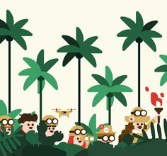 Google Campus Recruiting Day for Developers – opendoor Google illustration