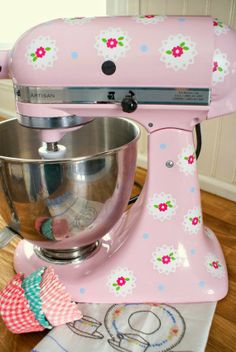 decals for your Kitchen Aid mixer!