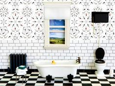 Cool Black And White Wall Designs
