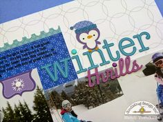 Frosty Friends: Winter Thrills Layout