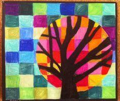 Suite du cercle chromatique - couleurs chaudes /froides