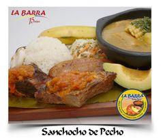 La Barra Restaurante - Sancocho de Pecho - #Cali #Colombia