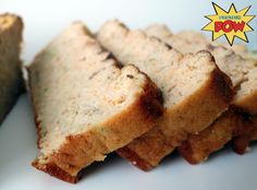 The Incredible Low Carb & Low Fat Carrot & Zucchini Protein Bread - Protein Pow