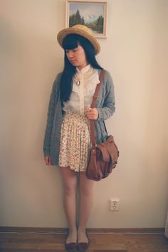 #outfit #simple #fashion #vintage #whimsical #summer