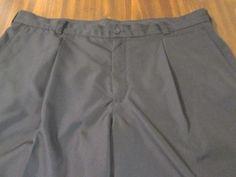 Men's Nike Golf Dark Navy Blue Dress Casual Golf Athletic Shorts 38 #CasualShorts