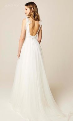 Wedding dress JESUS PEIRO - HERITAGE Collection 2019 - Made in Spain