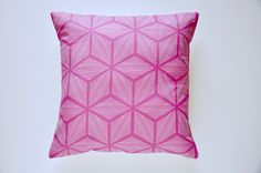 Cotton and Linen Removable Throw Pillow Cover  by RetroMenagerie