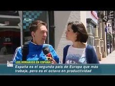 Horarios españoles | VeinteMundos Magazines