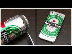 Aprende cómo hacer un case de tu cerveza favorita usando la lata ¡Está súper fácil! - YouTube