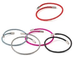 Guitar string bracelets. If you have guitar lovers this site has several guitar string gifts.