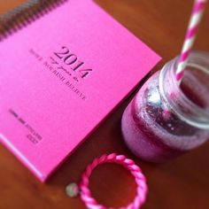 My 2014 diary. Keeping me inspired and organised! Fitness Journal, Workout Journal, Skinny Girls, Life Organization, Health And Wellbeing, New Beginnings, Happy Life, Yoga Fitness, Pretty In Pink