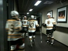 5/6/13 Here come the B's for game 3 of the playoffs at Toronto.