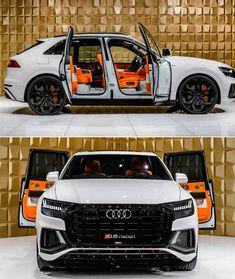 Audi Anniversary Edition by / Muscle🚅 / Exotics Luxury Sports Cars, Top Luxury Cars, Luxury Suv, Sport Cars, Audi Q7, Audi Quattro, Lamborghini, Ferrari, Lux Cars