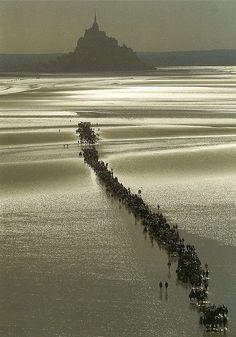 世界遺産 モンサンミッシェル モンサンミッシェルとその湾の絶景写真画像ランキング (フランス)