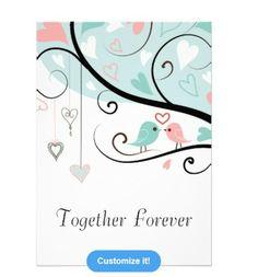 Love Bird Wedding Invitation available at: http://www.zazzle.com/weddingcanopy?rf=238623693837530845