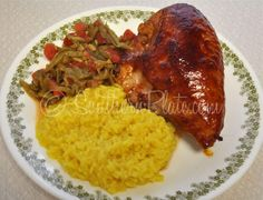 Sticky Chicken recipe from Southern Plate. It's a super simple recipe that is sure to bring them to the table. http://www.southernplate.com