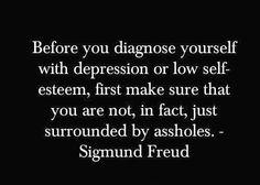My favorite Sigmund Freud quote!