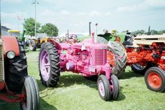 Pink Case SC tractor
