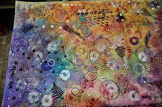 LuAnn Kessi: Painted Canvas Zipper Bags...