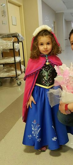#frozenanna#kidsfadhion#princesanna#frozen#4yearoldgirl#.capeandhar from fleecefun#aysemungan