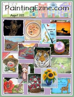 Painting Ezine August 2015 Issue Drawings To Trace, Paint Shop, Painting Patterns, Projects, Design, Decor, Log Projects, Blue Prints, Decoration