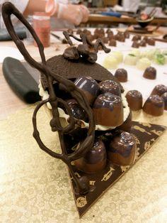 "Music box Chocolates    Chocolate amenity box. ""music"" themed"