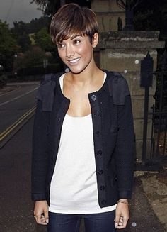 frankie sandford hair