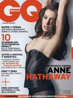 Mayo en GQ con Anne Hathaway