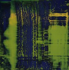 Gerhard Richter » Art » Paintings » Abstracts » Green-Blue » 793-1