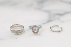 halo engagement ring | The Nichols